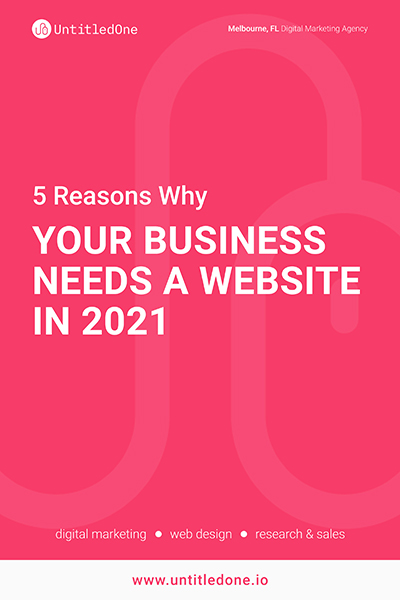 5 Reasons Why Your Business Needs a Website in 2021 Blog Post